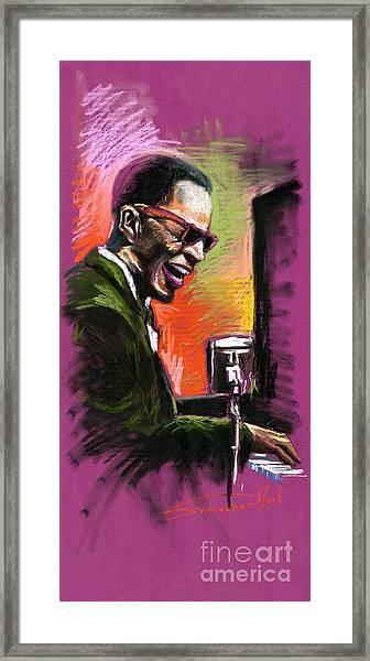 Jazz. Ray Charles.2. Framed Print