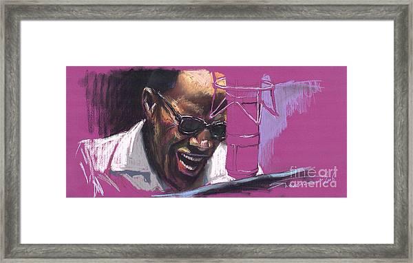 Jazz Ray Framed Print