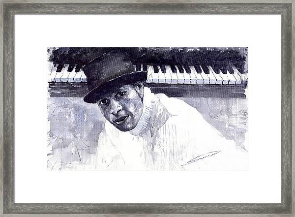Jazz Roberto Fonseca Framed Print