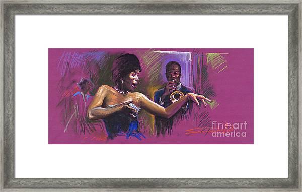Jazz Song.2. Framed Print