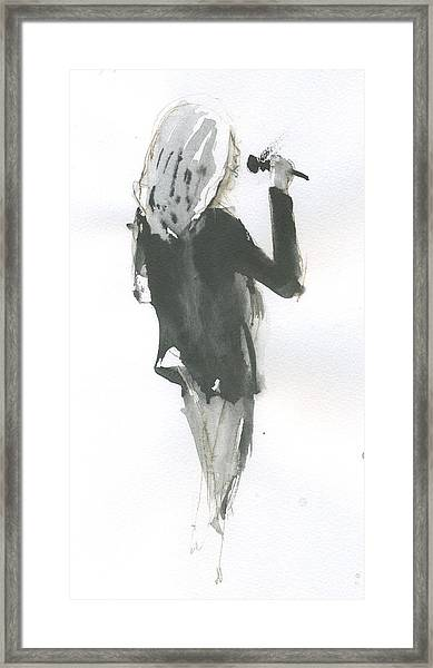 Jazz Vocals Framed Print