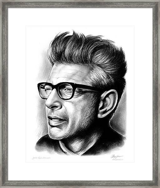 Jeff Goldblum Framed Print