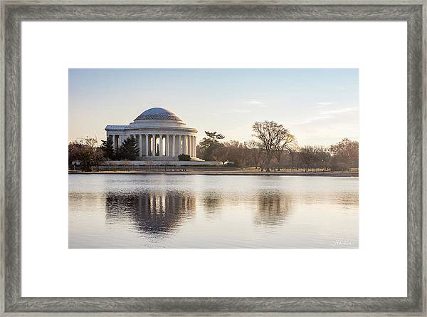 Jefferson Morning Framed Print
