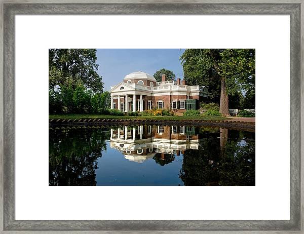 Jefferson Reflects Framed Print