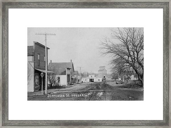Jefferson Street Framed Print