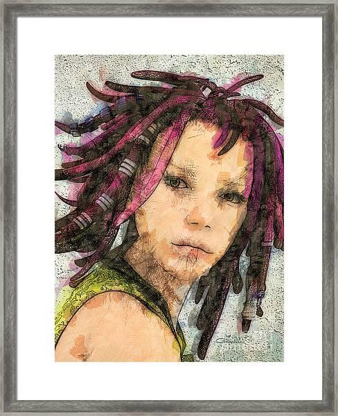 Jehanne Framed Print