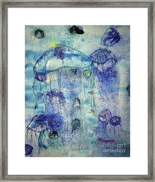 Jellyfish I Framed Print