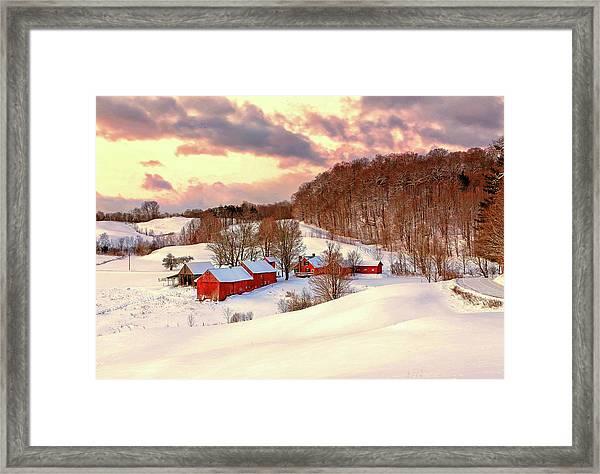 Jenne Farm After The Storm Framed Print