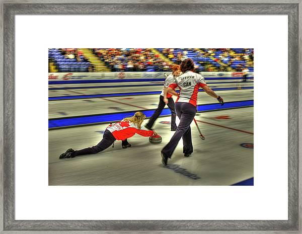 Jennifer Jones Throws Framed Print