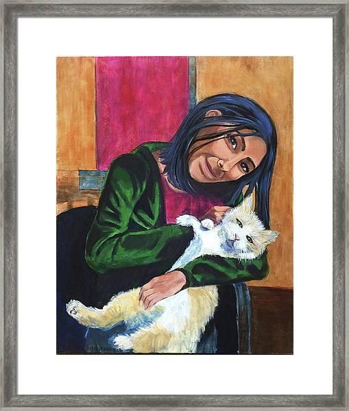 Jenny And Rogan Framed Print