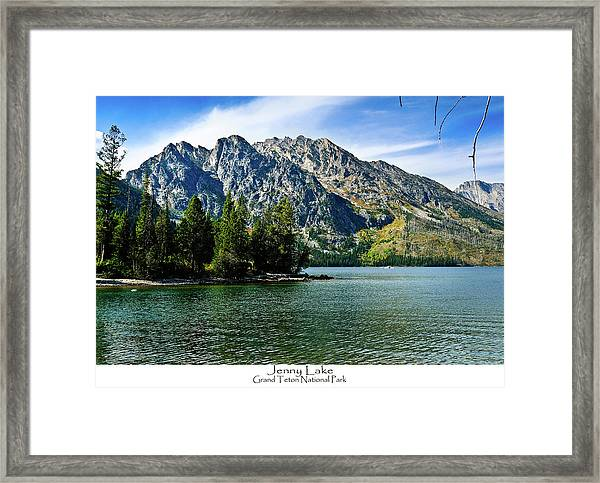 Jenny Lake Framed Print