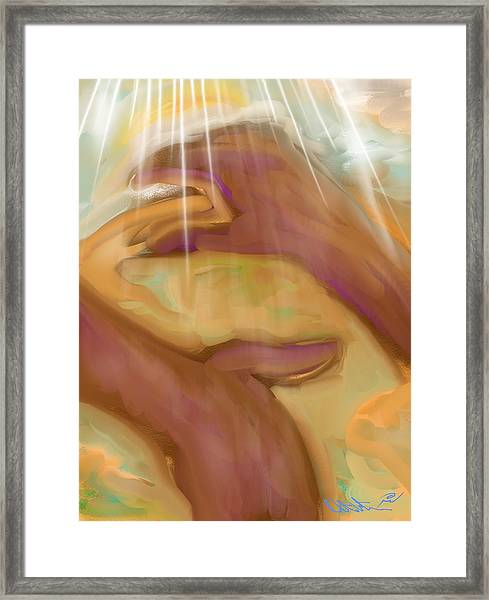 Jeremiah 32 And 17 Framed Print