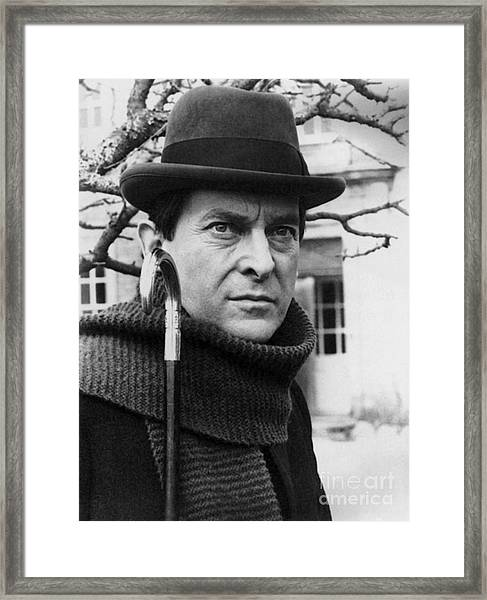 Jeremy Brett (1935-1995) Framed Print by Granger