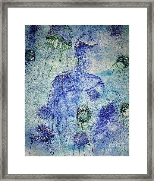 Jellyfish II Framed Print