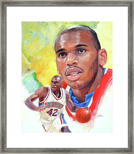 Jerry Stackhouse Framed Print