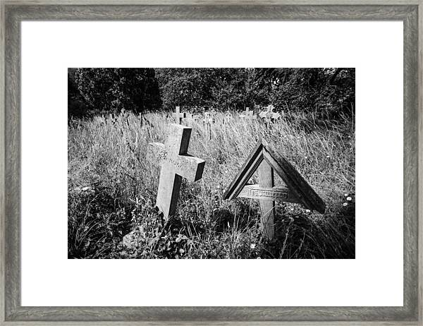 Jesu Mercy Framed Print