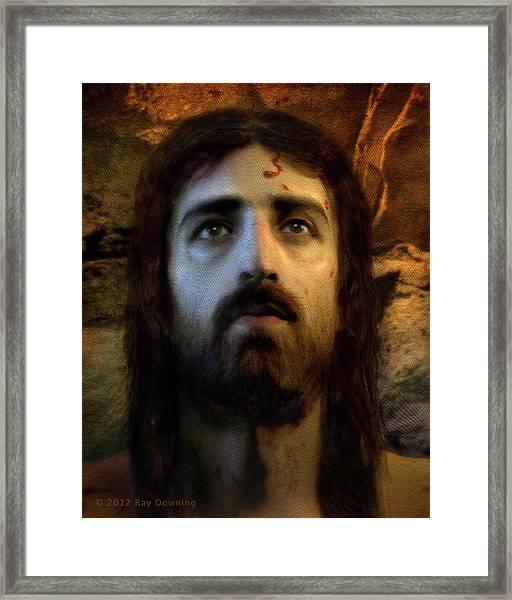 Jesus Alive Again Framed Print