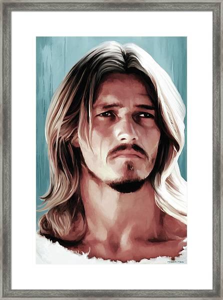 Jesus Christ Superstar Framed Print