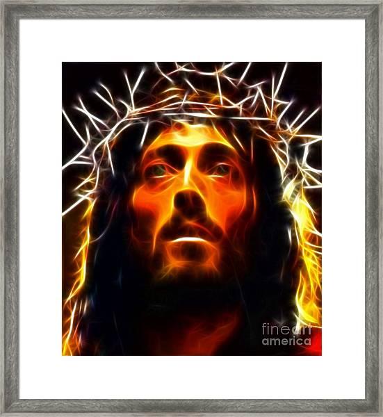 Jesus Christ The Savior Framed Print