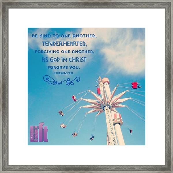 Jesus Said, you Have Heard That Our Framed Print