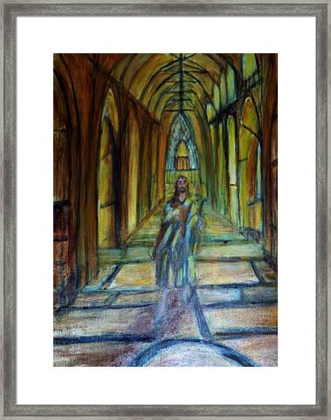 Jesus The Lamb Of God Framed Print