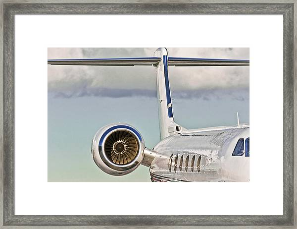 Jet Aircraft Framed Print
