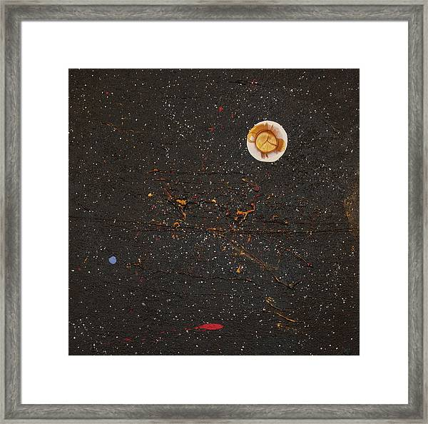 Framed Print featuring the painting Jewel Of The Night by Michael Lucarelli