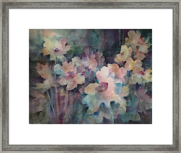 Jewels Of The Garden Framed Print