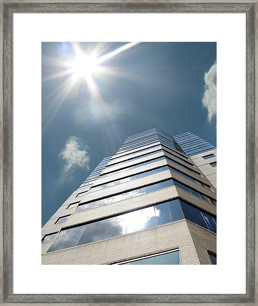 Jewish Hospital-louisville Ky Framed Print