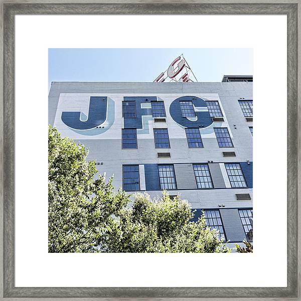 Jfg Looking Up Framed Print