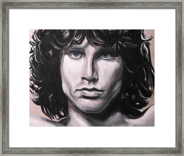 Jim Morrison - The Doors Framed Print