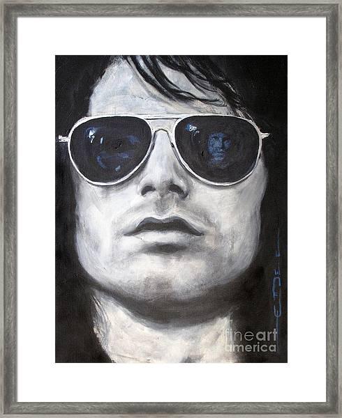 Jim Morrison IIi Framed Print