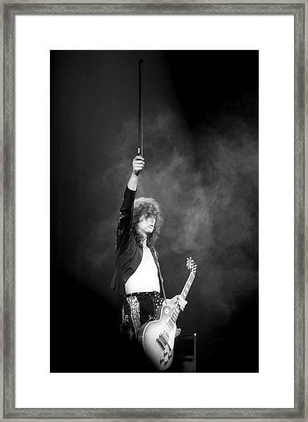 Jimmy Page 1 Framed Print