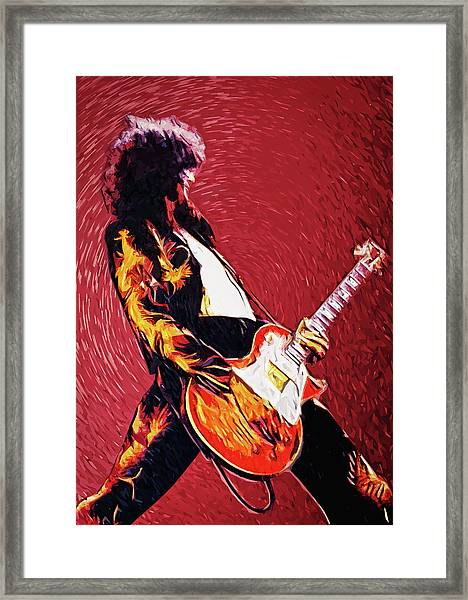Jimmy Page  Framed Print