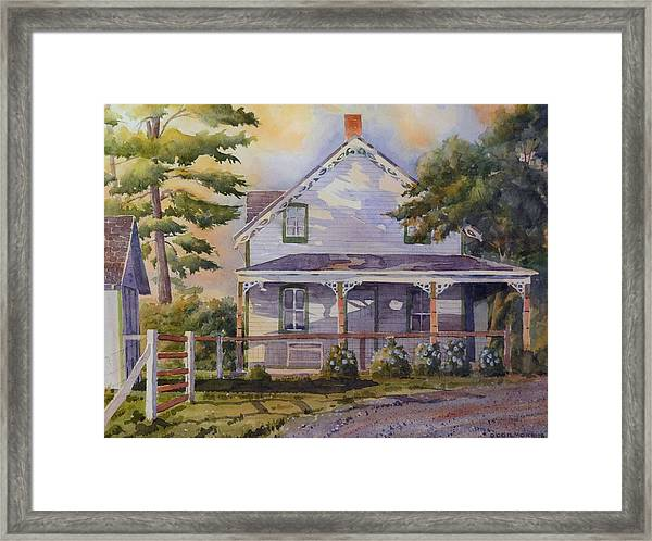 Joanne's House Framed Print