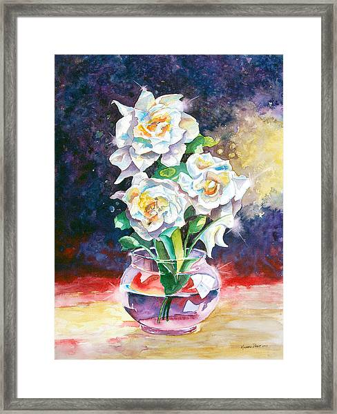 Joan's Gardenias Framed Print by Michael Prout