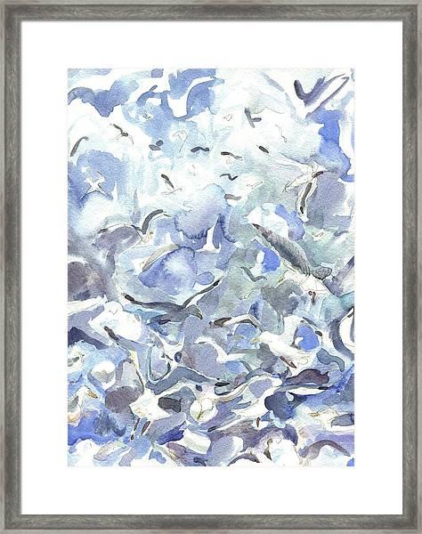 Jodrey Pier Framed Print