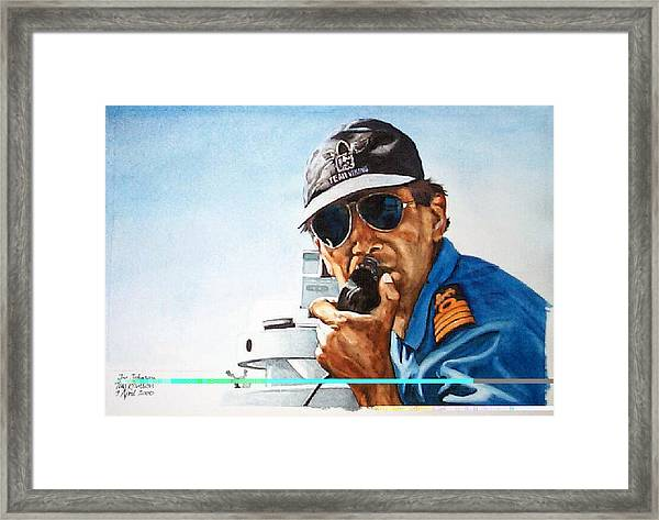 Joe Johnson Framed Print