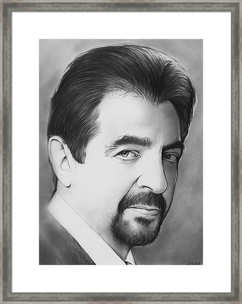 Joe Montegna Framed Print