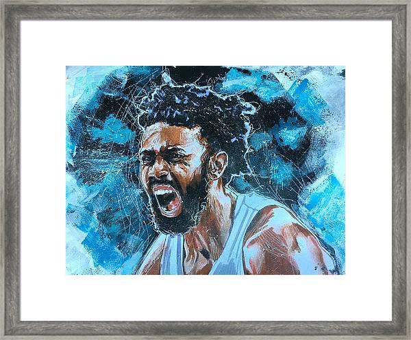 Joel Berry II Framed Print