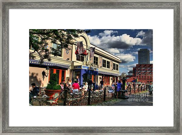 Joe's Framed Print