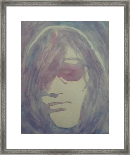 Joey Ramone Framed Print by Sheila Renee Parker