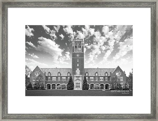 John Carroll University Administration Building Framed Print