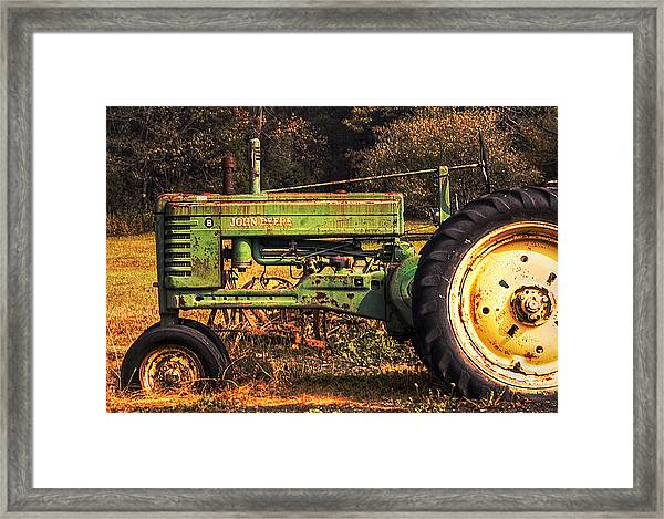 John Deere Retired Framed Print