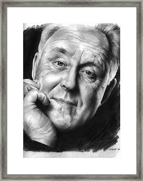 John Lithgow Framed Print