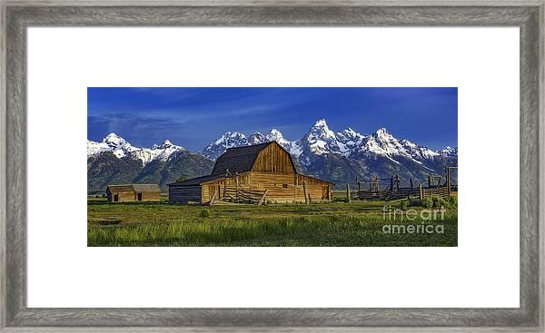 John Moulton Barn 2 Framed Print