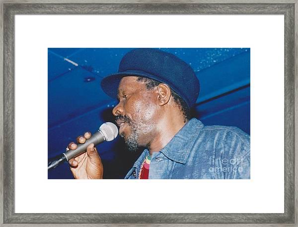 Johnny Osbourne Framed Print by Mia Alexander