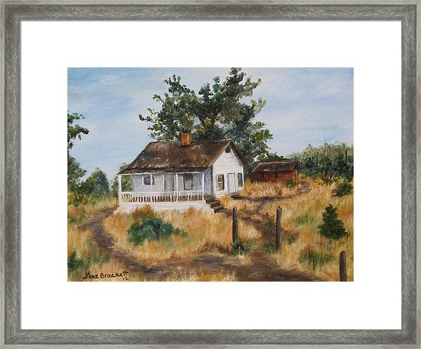 Johnny's Home Framed Print