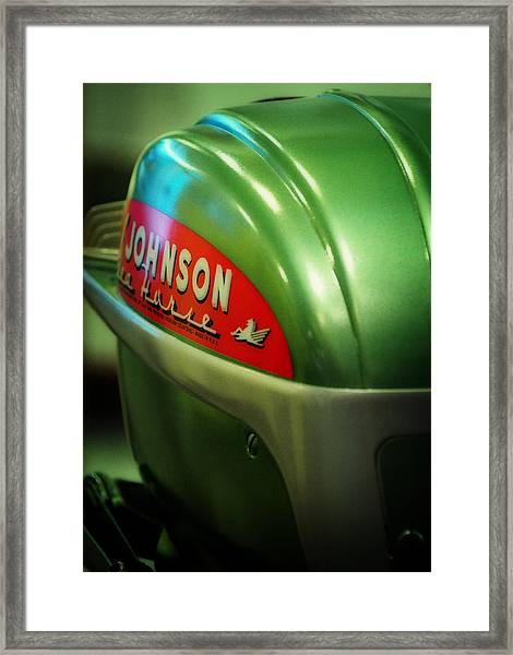 Johnson Sea Horse  Framed Print