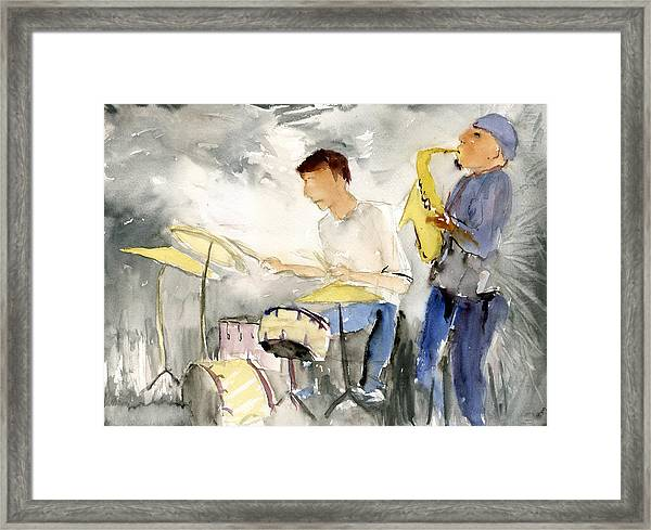 Johny Steele Framed Print